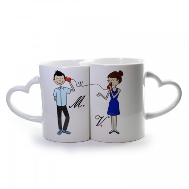 Pair of lover cup