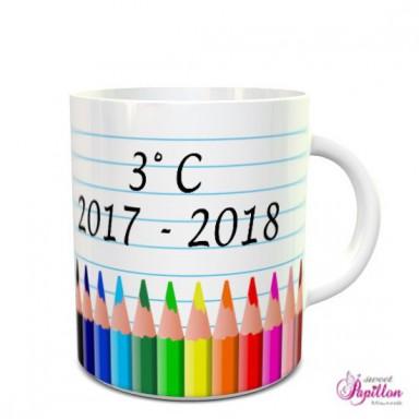 Tazza maestra matite colorate