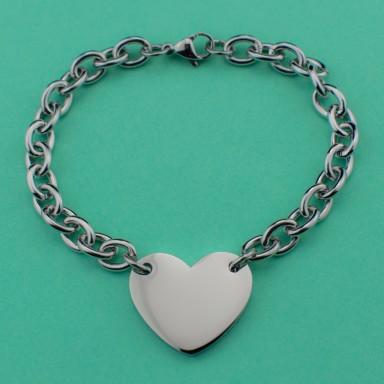 CUSTOM heart Bracelet