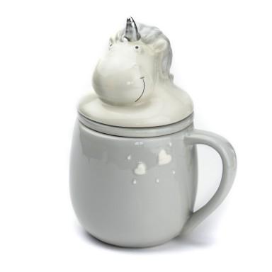 Unicorn tea cup