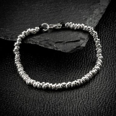 925 silver knots bracelet