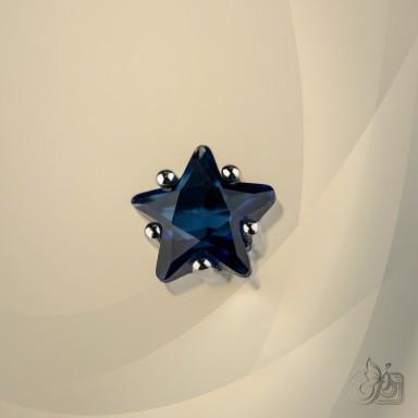 copy of Single lobe earring 925 silver star