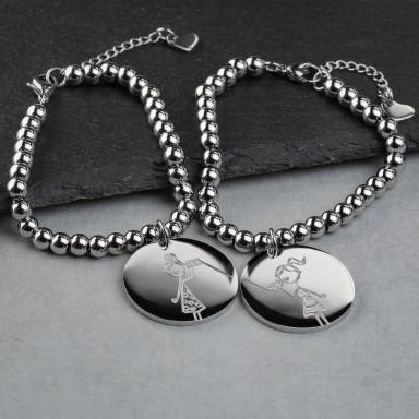 Bead bracelets for friend